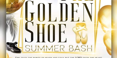 The Golden Shoe Summer Bash tickets