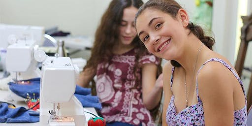 Teen Upcycle Fashion - summer arts camp at Ragfinery