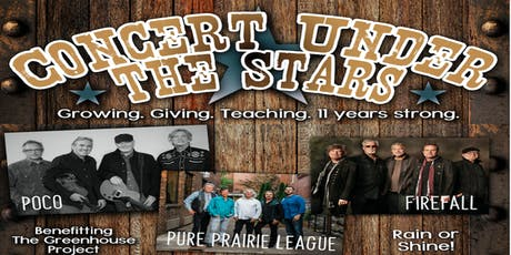 Carson City Greenhouse Project 11th Annual Concert Under the Stars tickets