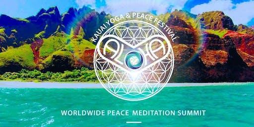 ALOHA Kauai YOGA & PEACE Festival 2019, October 4, 5, 6