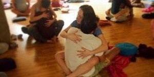 SAT. FREE HUGGING YOGA/BREATHWORK WORKOUT & MASSAGE MIXER OUTDOOR POTLUCK