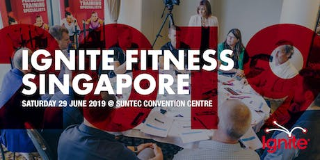 Ignite Fitness Business Singapore 2019 tickets
