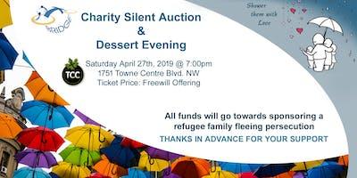 Charity Silent Auction & Dessert Evening