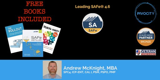 WEEKEND - Leading SAFe® (SA) 4.6 Certification Course