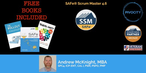 WEEKEND - SAFe® Scrum Master (SSM) 4.6 Certification Course