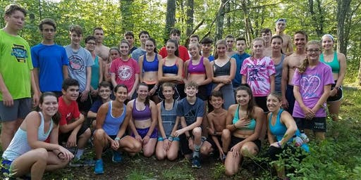 Distance Running Camp at YMCA Camp Kresge