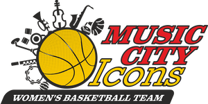 Music City Icons Professional Women's Basketball Team...
