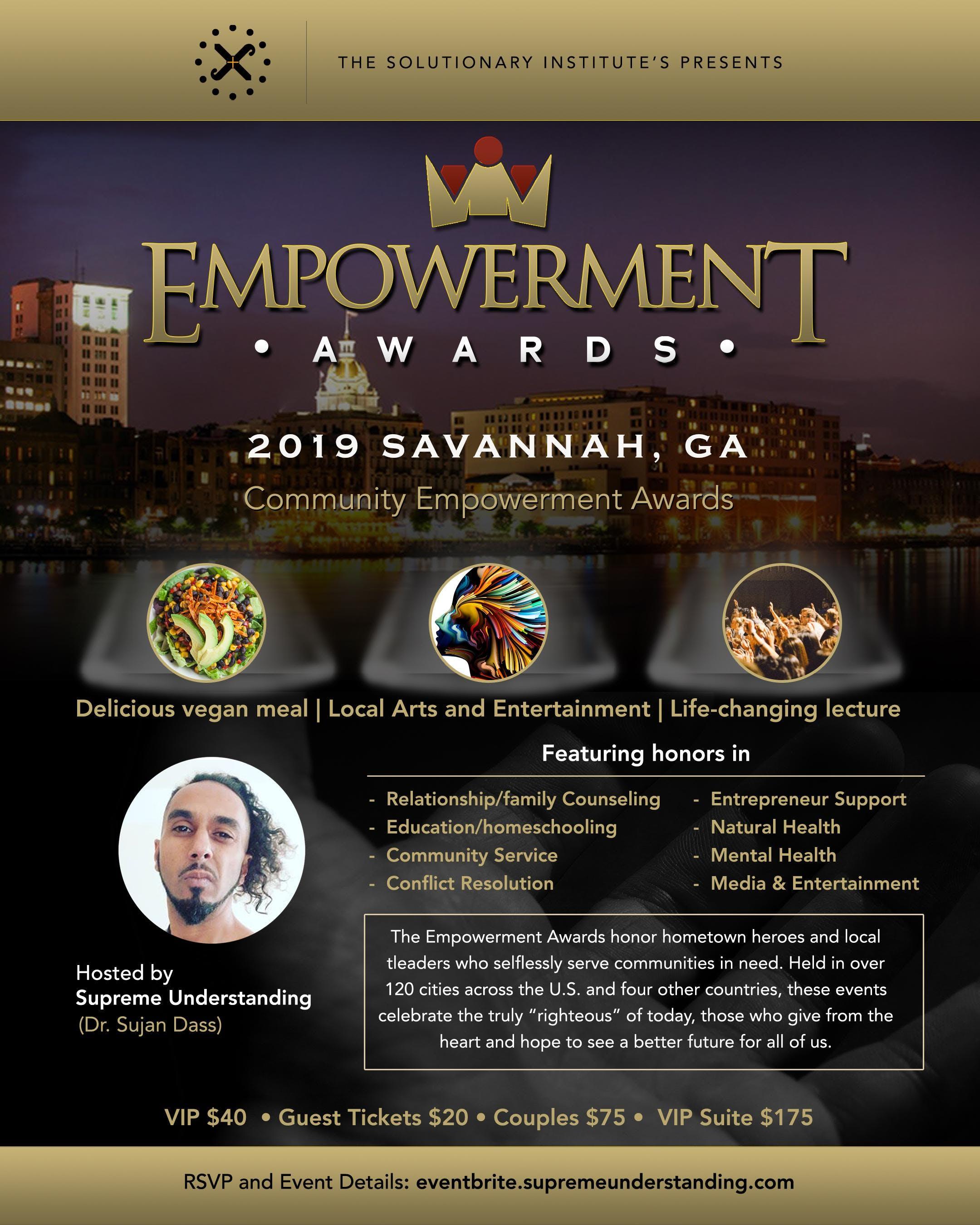 2019 Savannah Community Empowerment Awards