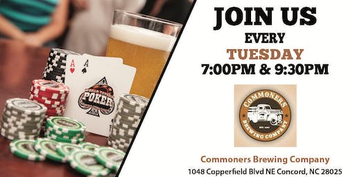 Commoners Brewing and World Tavern Poker Nights