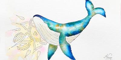Creativity Workshop - Whale in Watercolour