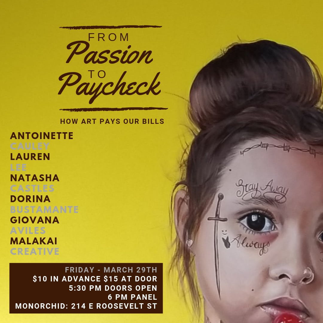 'From Passion To Paycheck' Panel Discussion