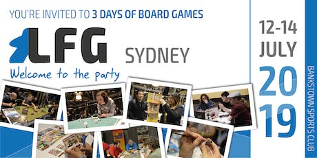 LFG Sydney: Welcome to the party 2019 tickets