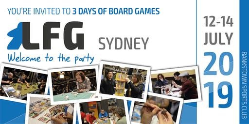 LFG Sydney: Welcome to the party 2019