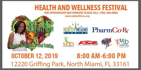 4th Annual Health and Wellness Festival tickets