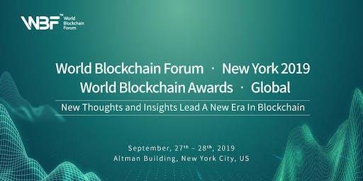 World Blockchain Forum · New York 2019 & World Blockchain Awards · Global