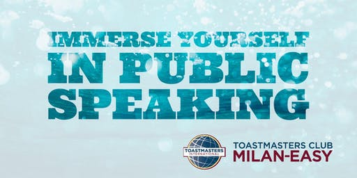 Immerse Yourself in Public Speaking