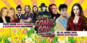 German Comic Con Dortmund Spring Edition 2019