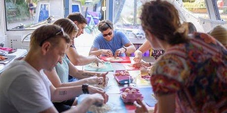 Pasta making masterclass on a quirky boat tickets
