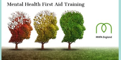 MHFA Youth 2 day Mental Health First Aider course in Harrogate