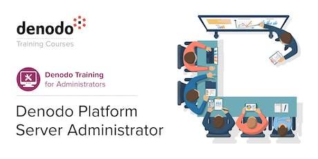 Denodo Platform Server Administrator - Virtual - Nov 25th-27th tickets