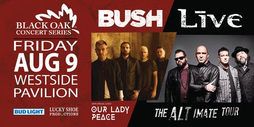 BUSH & +LIVE+ – The ALTimate Tour