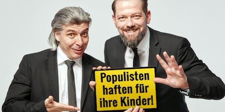 ONKeL fISCH: Populisten haften für ihre Kinder Tickets