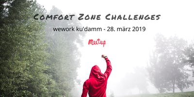 Comfort Zone Challenges - Meetup - EN