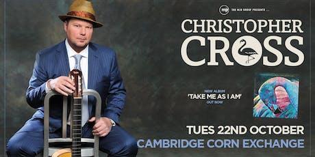 Christopher Cross (Corn Exchange, Cambridge) tickets