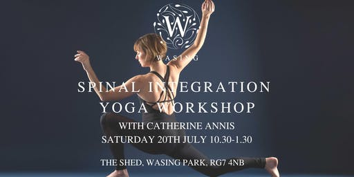 Spinal Integration Yoga Workshop with Catherine Annis