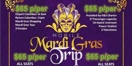 Road Trip to Mobile Mardi Gras 2020