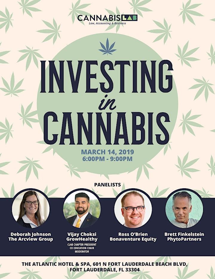 Cannabis LAB Broward/W Palm Beach - Investing in Cannabis image