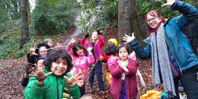 Kids adVentures Whitefield Forest School Holiday Club Easter 2019