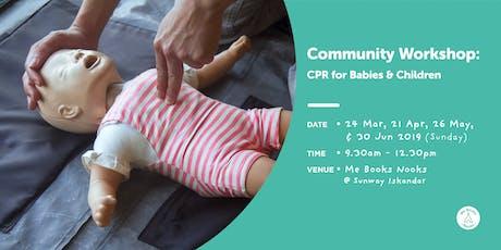CPR for Babies & Children tickets