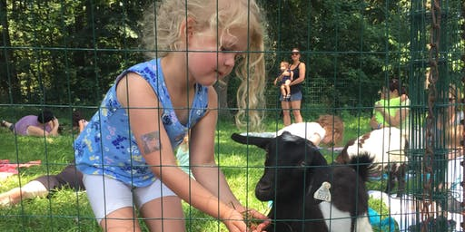 6/29 Goat Yoga for Kids (with Goat Kids!)