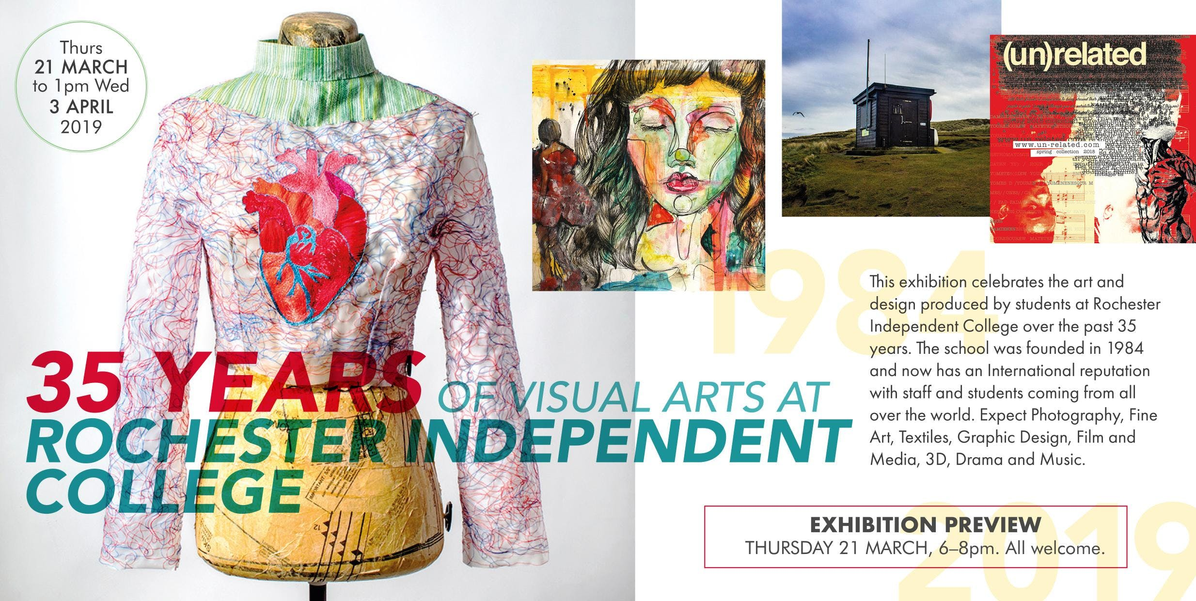35 Years of Visual Arts at RIC - Private View