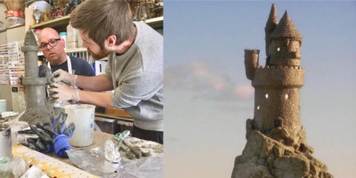 Castles!- Full day Sculpting workshop using Pal Tiya Premium