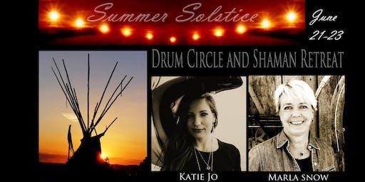 Katie Jo Shaman Summer Solstice Retreat