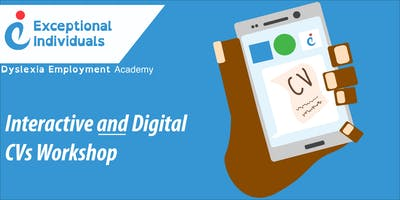 Week 5: Interactive and Digital CVs Workshop | The Dyslexia Employment Academy