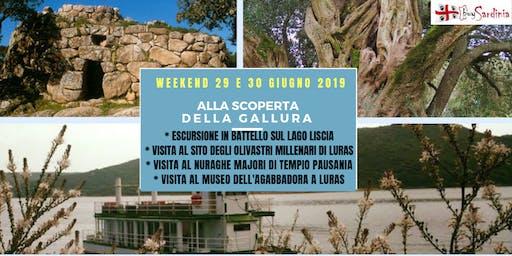 WEEKEND ALLA SCOPERTA DELLA GALLURA 29 E 30 GIU