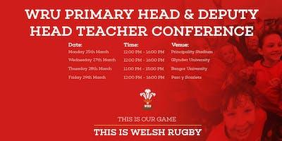 WRU Primary Programme Conference - Glyndwr University