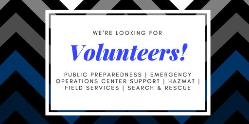 Will County EMA New Volunteer Open House