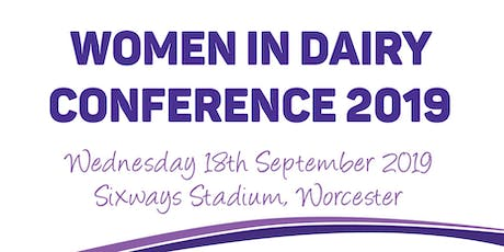Women in Dairy Conference 2019 tickets