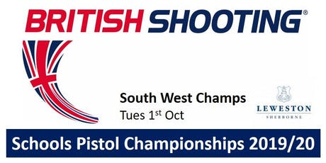 SOUTH WEST Schools Pistol Champs 2019/20 tickets