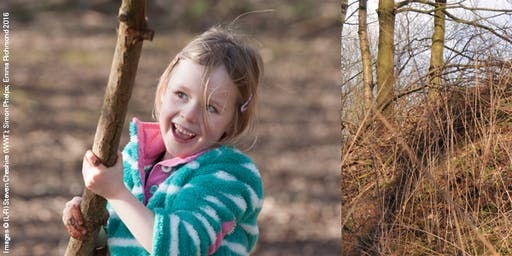 Ultimate Den Building at Bubbenhall Wood (5+)