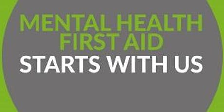 Workplace Adult Mental Health First Aid Training - 2 day course tickets