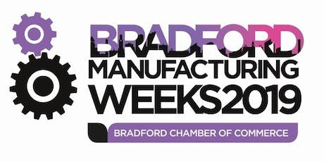 Sign up to Bradford Manufacturing Weeks 2019 tickets