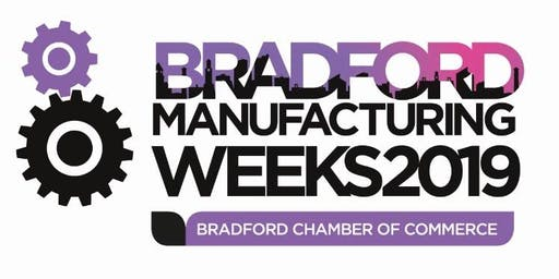 Sign up to Bradford Manufacturing Weeks 2019