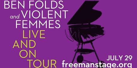 BEN FOLDS & VIOLENT FEMMES tickets