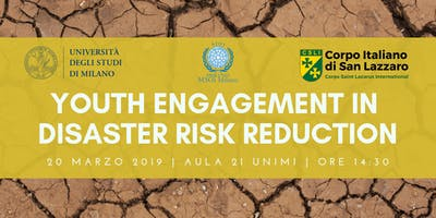Youth engagement for Disaster Risk Reduction