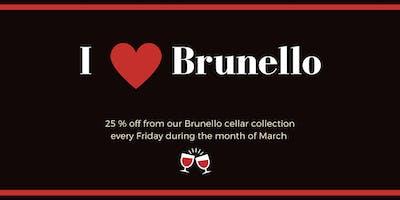 Brunello Fridays